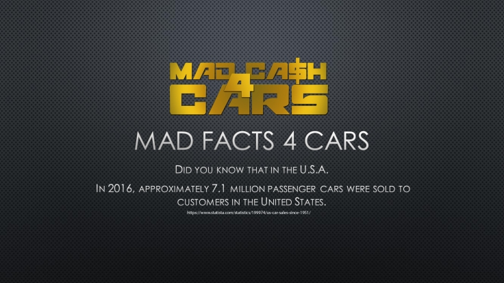 mad facts 4 cars